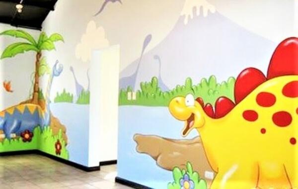 vẽ tranh tường trường mầm non hcm