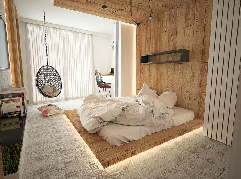 9 Mẹo Trang Trí Phòng Ngủ Không Giường Độc Đáo – Ấn Tượng