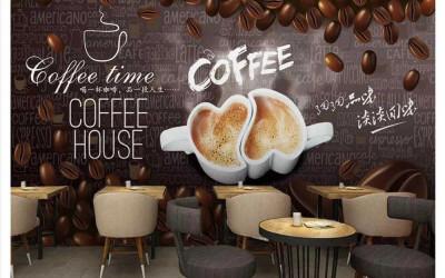 50 Mẫu Vẽ Tranh Tường Quán Cafe Theo 5 Chủ Đề Hot Nhất